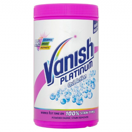 Vanish Platinum Pink Stain Removing Powder, 1.4 kg Tub